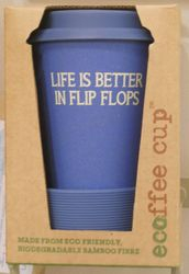 Life is Better in Flip Flops Travel Cup