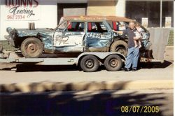 Dad's 2005 Feature winning Demo car.