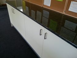 New Cabinetry & Benchtop for Northern Suburbs Bowls Club.