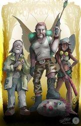Walking Dead Trio