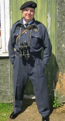 R.O.C uniform worn by Justyn Keeble