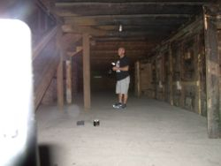 Mike in the Dungeon - Fort William Henry