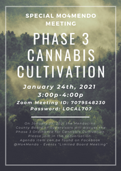 Phase 3 Cannabis Cultivation