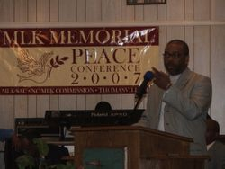 Dr. Jackson at MLK Peace Conference 2007