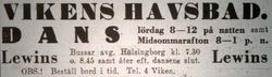 Vikens havsbad 1935
