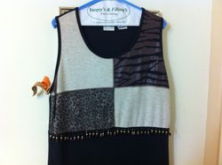 Re-beaded Dress #1-2