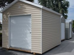 10x12C - 8'wall and roll up