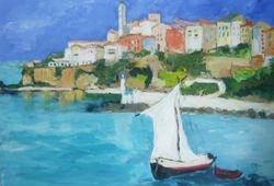 Hafen von Bastia-Korsica