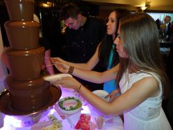 Chocolate fountain hire Sheffield