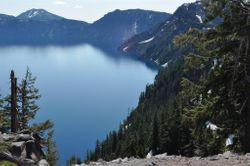 Crater Lake, Morning 2