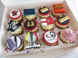 13th Birthday Personalised Cupcakes