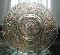 Star Medallion plate clambroth