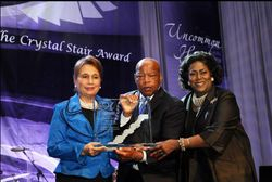 Former Secretary Alexis Herman, Congressman John Lewis and our National Chair