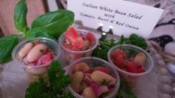 Italian White Bean Salad Shooters