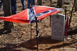 Pvt. Richard Vance Grave Dedication