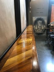 Stained bar