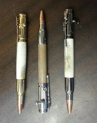 30 Cal Bullet Pens Bolt Action