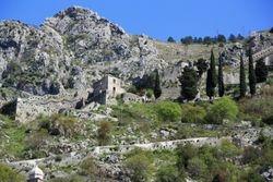 Walls in Kotor, Montenegro