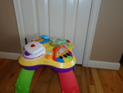 Fisher Price Laugh & Learn Fun with Friends Musical Table - $25