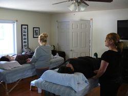 Students practice in the Reiki Studio at Cedar Cove Wellness Cobourg ON area
