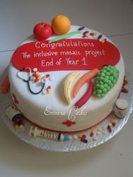 Health Themed cake(SP069)