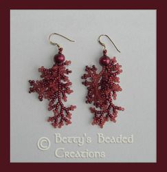 Branch Fringe Earrings $51.00