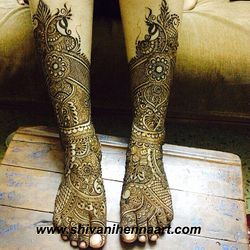 Traditional Bridal Henna