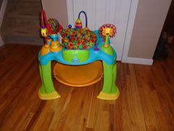 Oball Bounce O Bunch Activity Center Exersaucer - $30