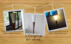 Restauration lampadaire