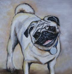 Piper Pet Portrait Commission