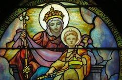 Tiffany, Madonna and Child, St. Saviour, Bar Harbor