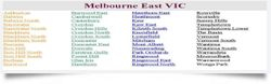 Driving School East Melbourne Areas