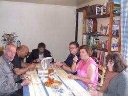 Thierry, Ludo, Bruno et Sophie