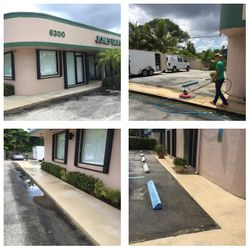 Commercial Sidewalk pressure cleaning