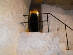 The opening into the Cisterns