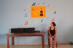 Aula de violín :)