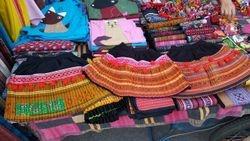 Precious tribal skirts