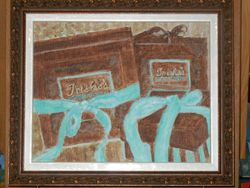 Framed Trisha's Almond Toffee