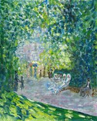 Parc Monceau by Monet - Paris, France