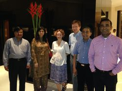 Mumbai Faculty arrives