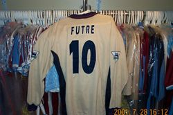 Paulo Futre worn 1996 away shirt