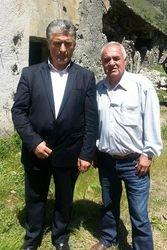 Agustin Miraka dhe Fatmir Lamaj