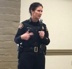 Folsom police Chief Cynthia Renaud
