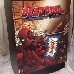 Deadpool themed drawers.