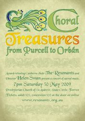 Choral treasures from Purcell to Orban