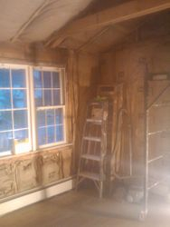 Insulation Completed
