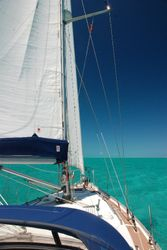 Sailing to Black Point