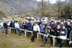 2004 The Sunday Morning Ritual - Rallyists in attendance