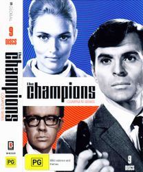 The Champions - Complete Series DVD Set (Australia Reg. 4)
