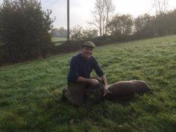 Doug shoots a lovely doe